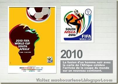 Affiche Afrique du Sud 2010