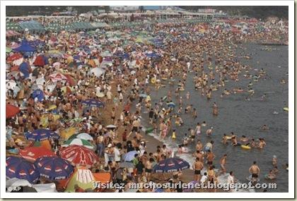 Une plage en Chine-12