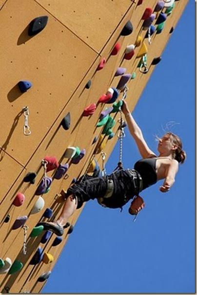 Mur d'escalade plus haut du monde-2