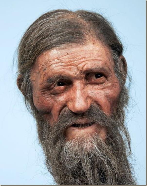 Le nouveau visage de Ötzi
