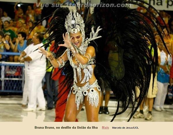 Les muses du Carnaval de Rio 2011