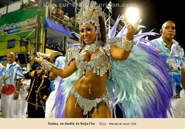 Les muses du Carnaval de Rio 2011-12