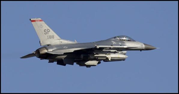 Avion F16 USA
