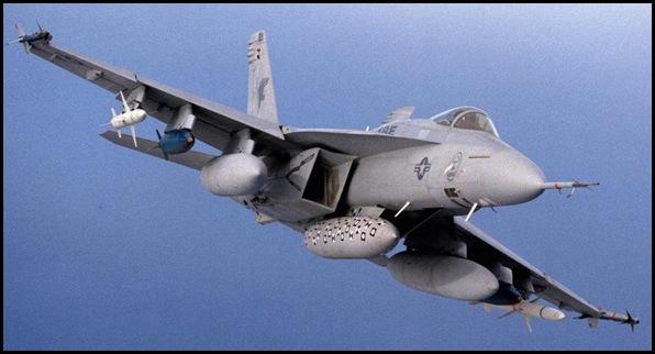 Avion F-18 USA