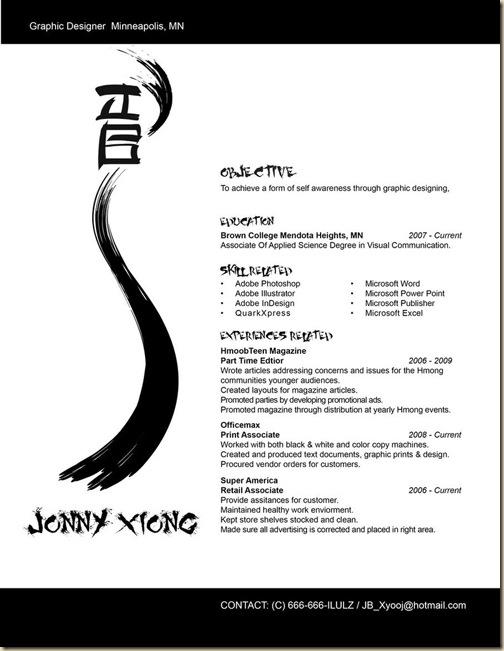 CV créatifs