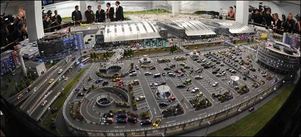 Maquette de l'aéroport de Knuffingen sur 1tourdhorizon.com-1