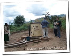 An Elephant Pump near Mpamba Trading Centre