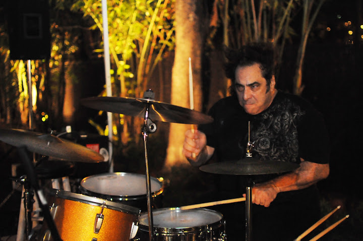 Drumming in Stereo