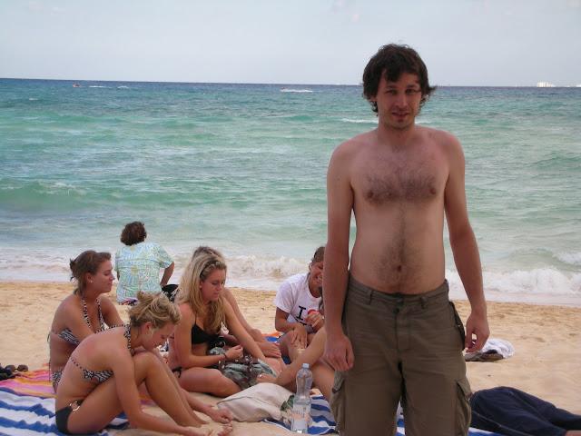 Żydek na Playa de Carmen