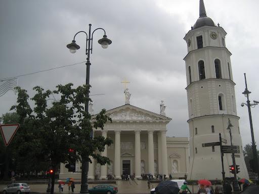 Wilno - Plac Katedralny