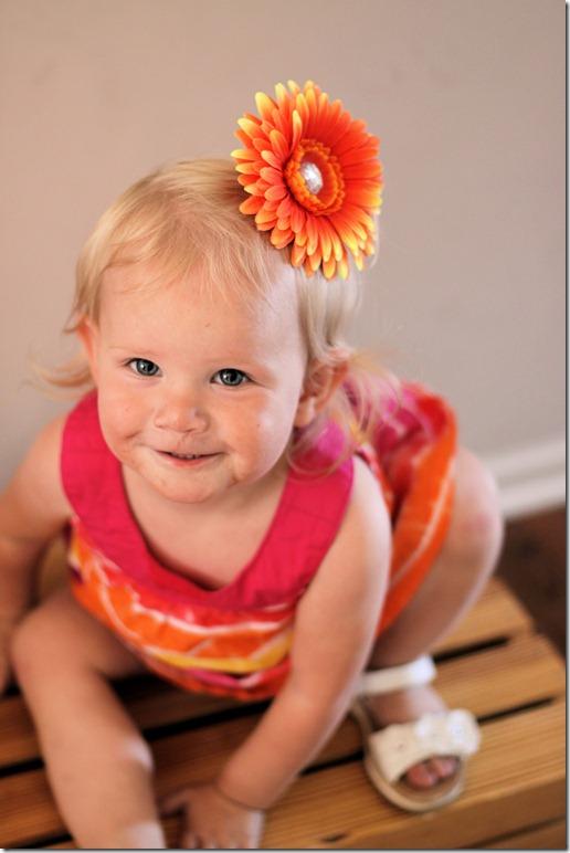 sage orange flower 2