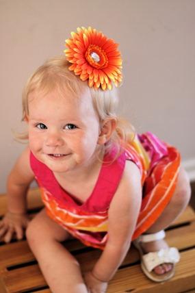 sage orange flower 3