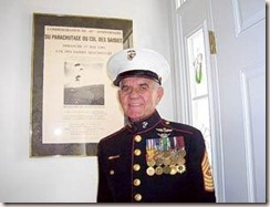 SGT MAJ John P Bodnar USMC