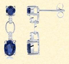 Blue Sapphire Earrings copy