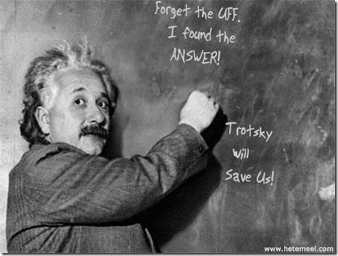 Einstein Trotsky