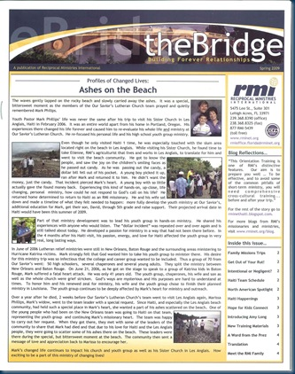 theBridge front page Spring 2009_0001
