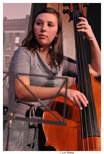 Anneleen Boehme (studying Jazz at Den Haag Conservatory, Holland, Third Bachelor, at Frans van der Hoeven)