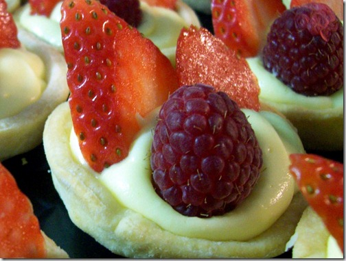 Mini Cheaty Cheesecakes