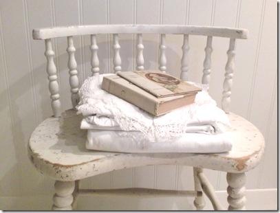 chair w books