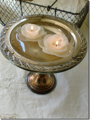 Candle In Water b