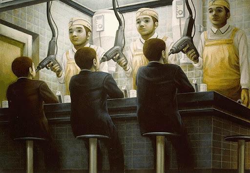 Социальный сюр от японца Тацуя Ишида
