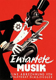 Entartete musik poster