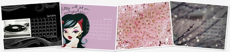 View April 2010 Calendars