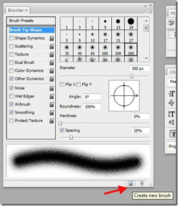 Create brush