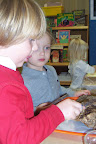 Use of science tools can begin in early childhood.