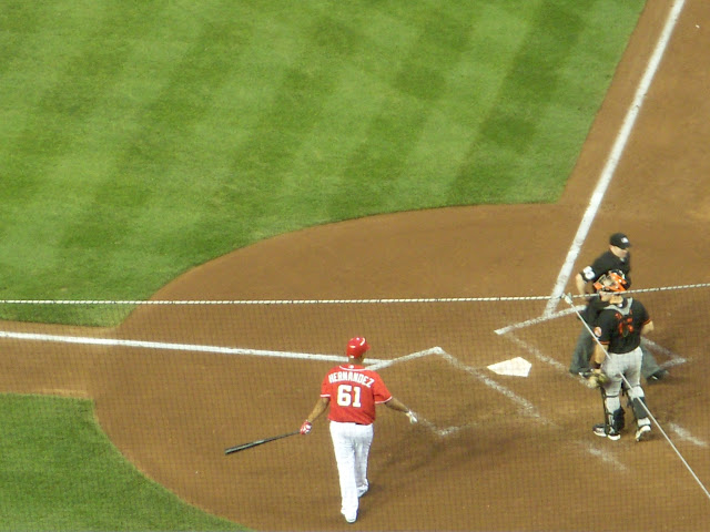 Hernandez at bat