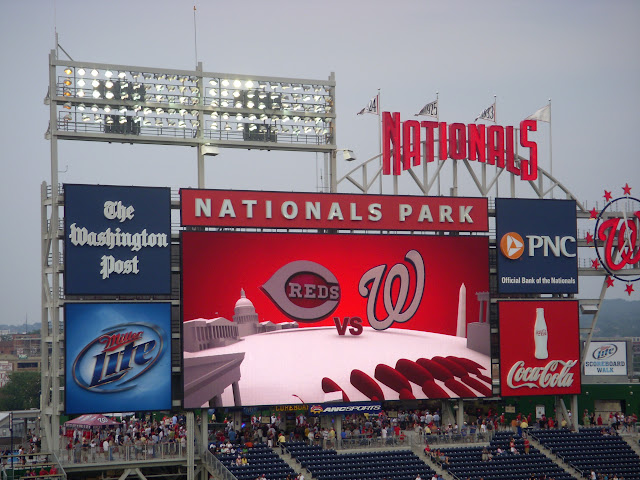 Nationals vs Reds