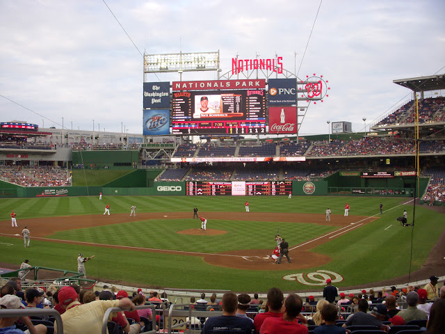 View from the Diamond Club