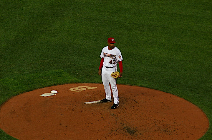 Batista on the mound