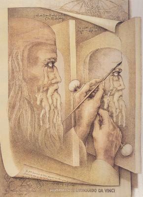 Ilusão de Óptica Auto-Retrato