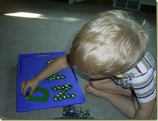 letter pebbles