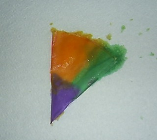 tie-dyed coffee filter