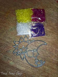 sun and moon suncatcher kit
