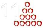 number mats 11-20