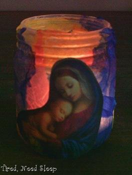 finished candle