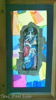 Finished piece for the Annunciation