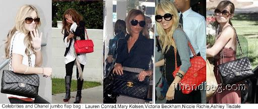 Celebrities And Chanel Jumbo Flap Bag