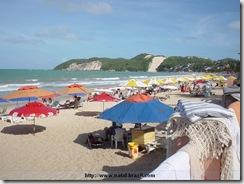 Praia de Ponta Negra, a mais famosa de Natal