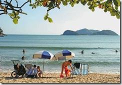 Praia da Barra do Saí, São Sebastião (SP)