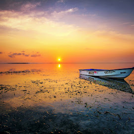 If You Here With Me by Denny Iswanto - Landscapes Sunsets & Sunrises