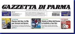 gazzetta prima pagina particolare 19 11 2010