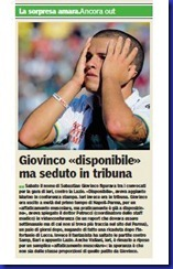 GIOVINCO GAZZETTA DI PARMA