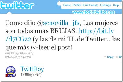 Twitter - TwittBoy (Ivan)