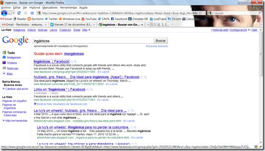 Resultados de Google Inganicos