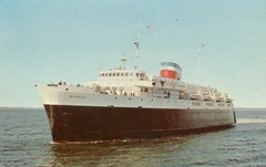 MV Bluenose sailed betwen Bar Harbor Maine and Yarmouth Nova Scotia until 1997