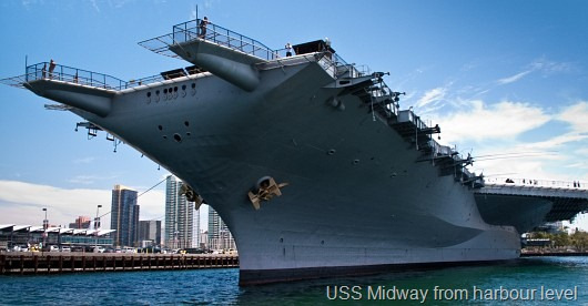 © Bob Baillargeon - USS Midway Harbour Level